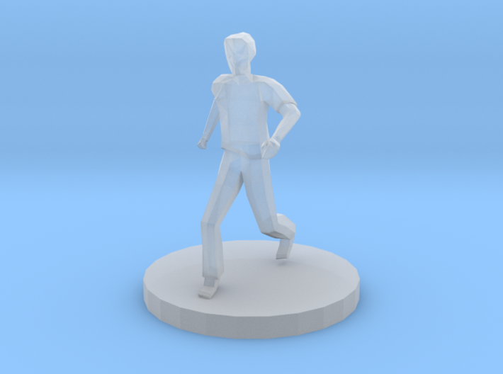 Male Runner 3d printed