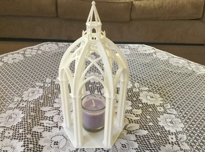 Gothic Chapel 1 Upper 3d printed Chapel top and bottom