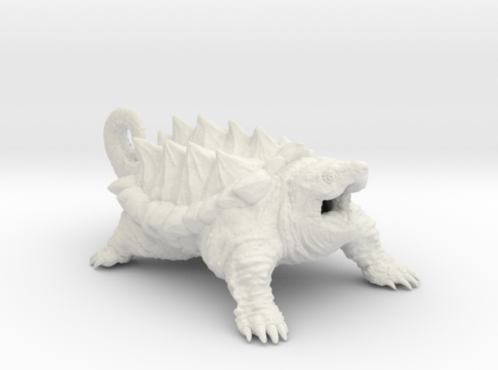 American Alligator Snapping Turtle 3d printed