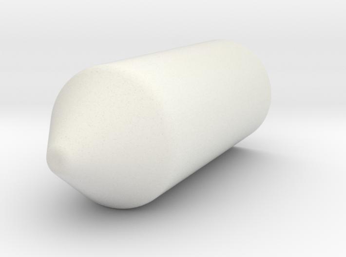 Airbrush Bullet cap 3d printed