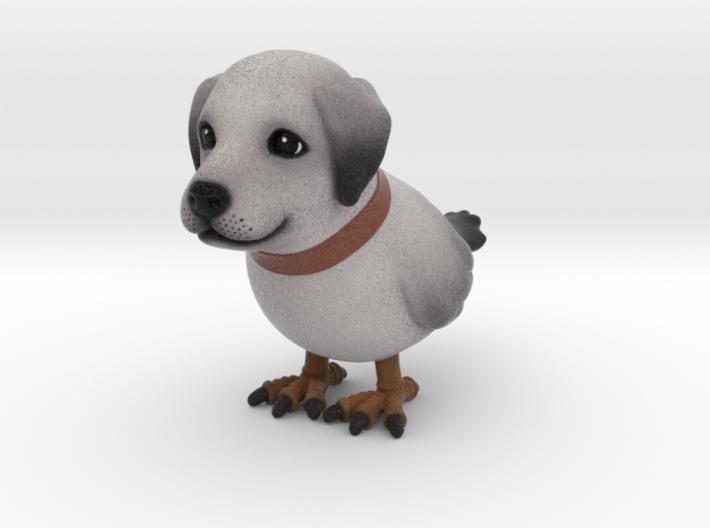 dog_bird 1 3d printed