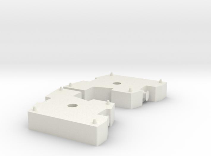 DEMAG AC 1600 1/50 (Zon Models) Ballast 3d printed
