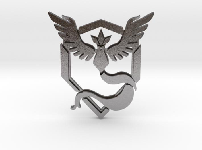 Team Mystic Pendant 3d printed