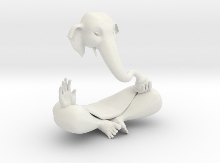 Indian GOD Statue Ganesha 3d printed