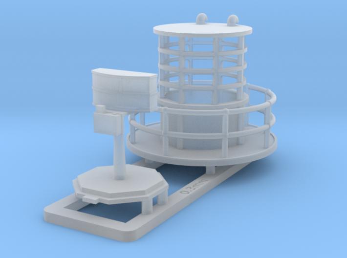 Radar 271 Round Housing 1/144 3d printed