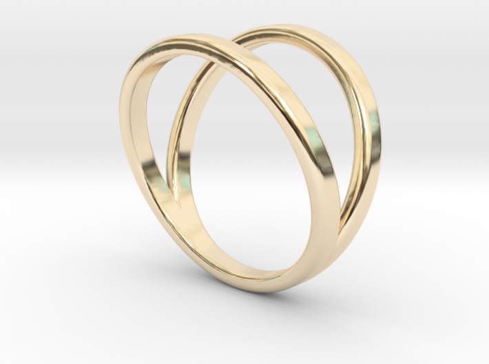 Split Ring Size 9 3d printed