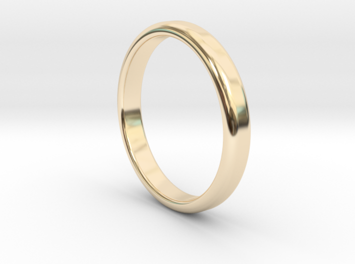 Ring Band Size 7 3d printed