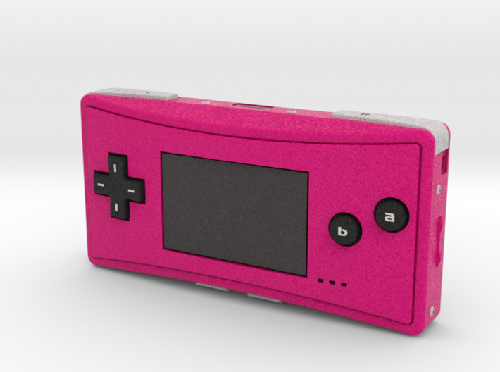 1:6 Nintendo Game Boy Micro (Pink) 3d printed
