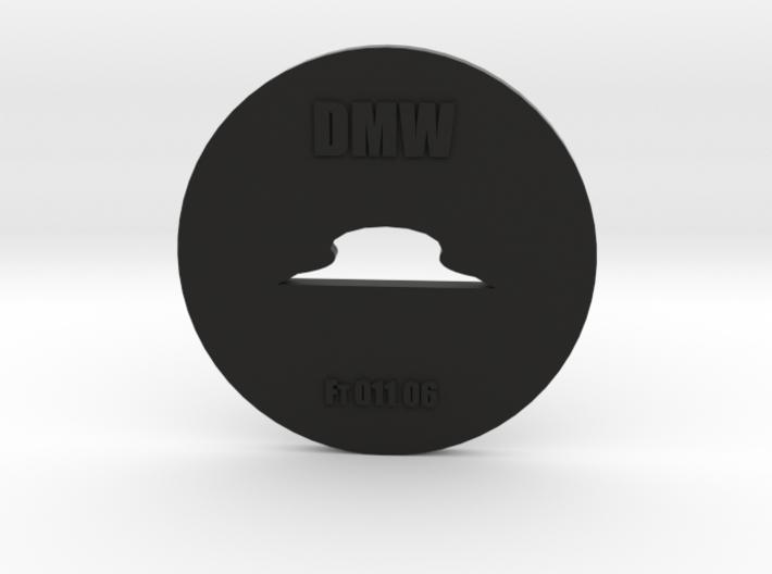 Clay Extruder Die: Footer 011 06 3d printed