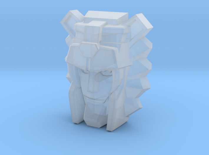 Leozack Faceplate (Titans Return) 3d printed