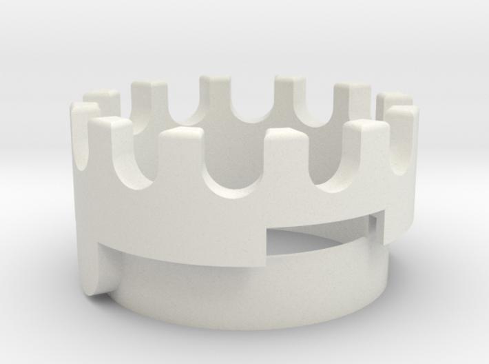 IKEA - BAGGÖN 360° rotation mid piece 3d printed