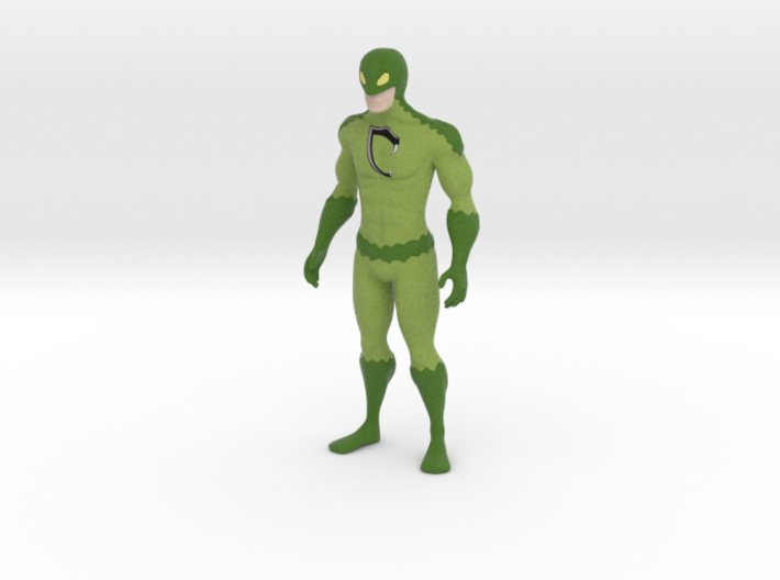 Cobra Man - Anti-Bullying Superhero Figurine 3d printed COBRAMAN - MAN OF FAITH, HOPE & PERSEVERANCE