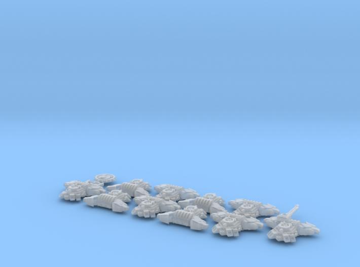 Ultra Legion - Gen4:PAC:Eagle 10/squad 3d printed
