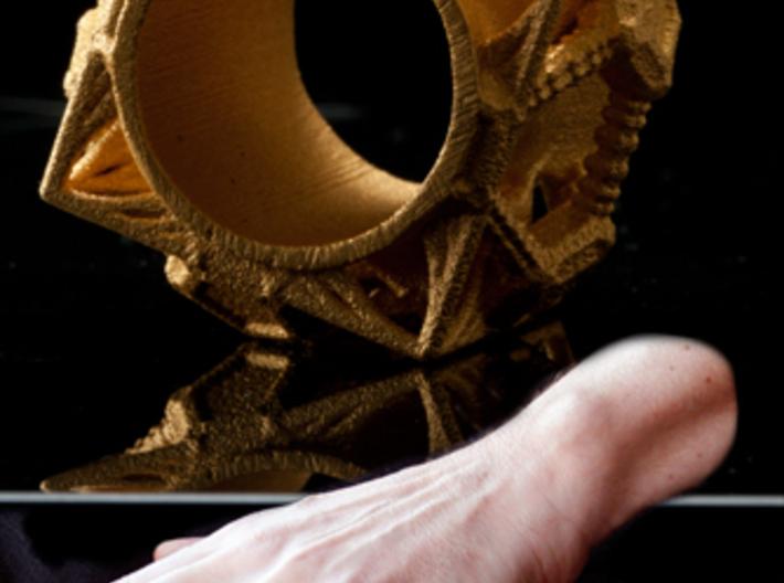 Cosmographicum Fractalium - The Ring 3d printed