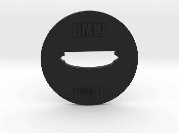 Clay Extruder Die: Footer 003 03 3d printed