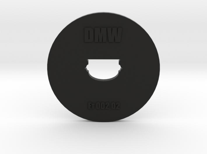 Clay Extruder Die: Footer 002 02 3d printed