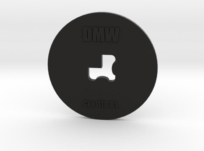 Clay Extruder Die: Corner 010 01 3d printed