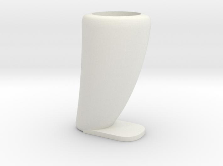 Dinosaurs tooth flowerpot 3d printed