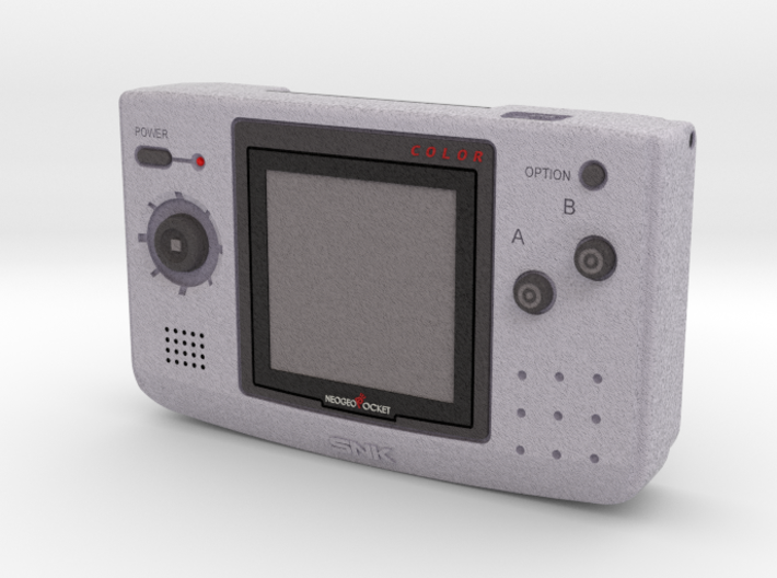 1:6 SNK NGPC (Silver) 3d printed