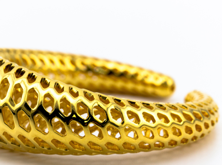 DRAGON Structura, Bracelet. Strong, Bold. 3d printed