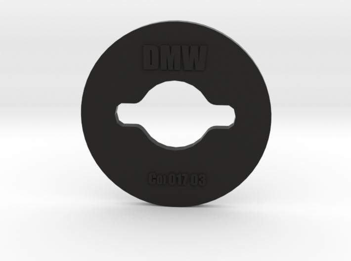 Clay Extruder Die: Coil 017 03 3d printed