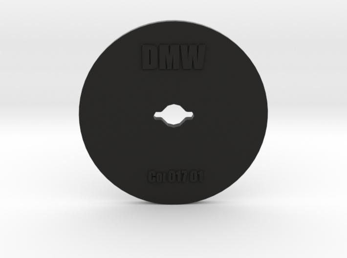 Clay Extruder Die: Coil 017 01 3d printed