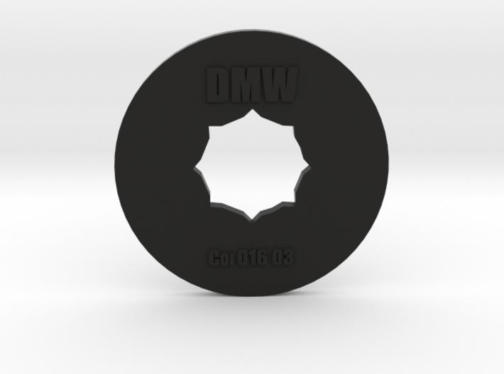 Clay Extruder Die: Coil 016 03 3d printed
