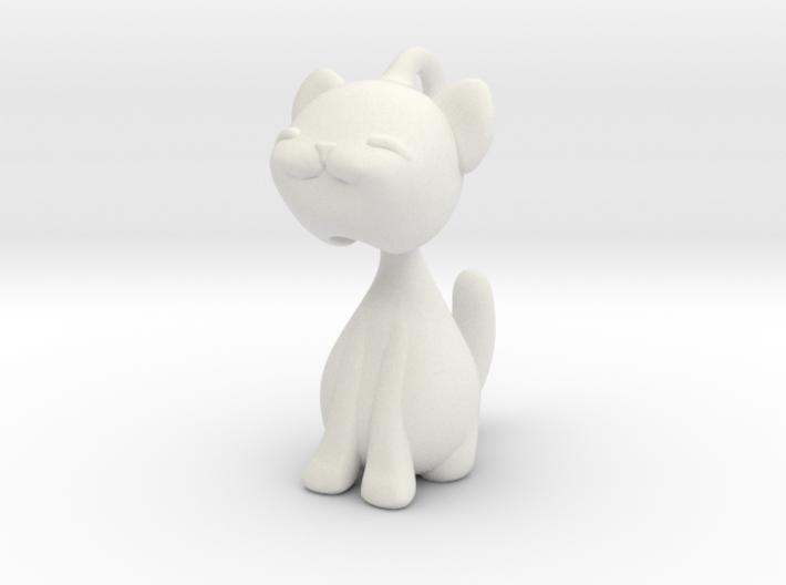 Articulated kitten  3d printed