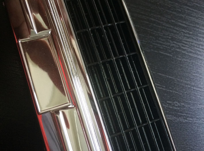 027001-00 F-150 Ranger Grill 3d printed