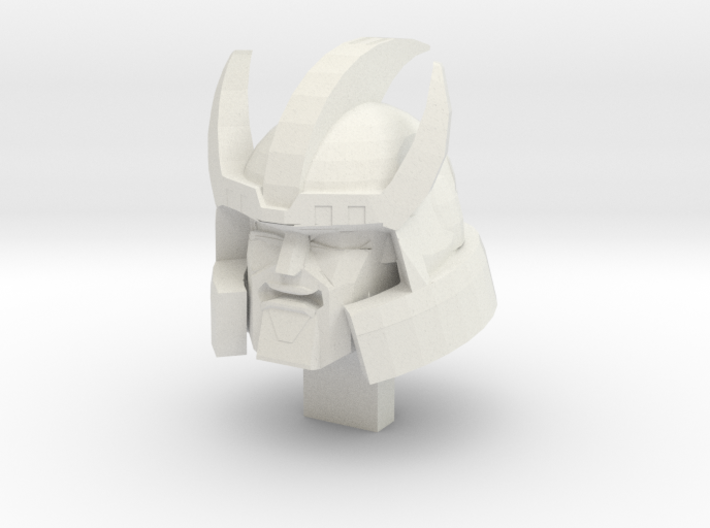 Galvatron TR Head Alternate Mouth 3d printed
