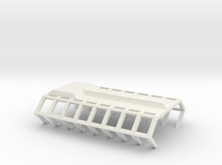Gagarin Station Shipyard Platform 3d printed