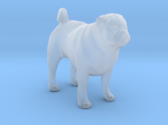 1/22 Pug Standing 3d printed