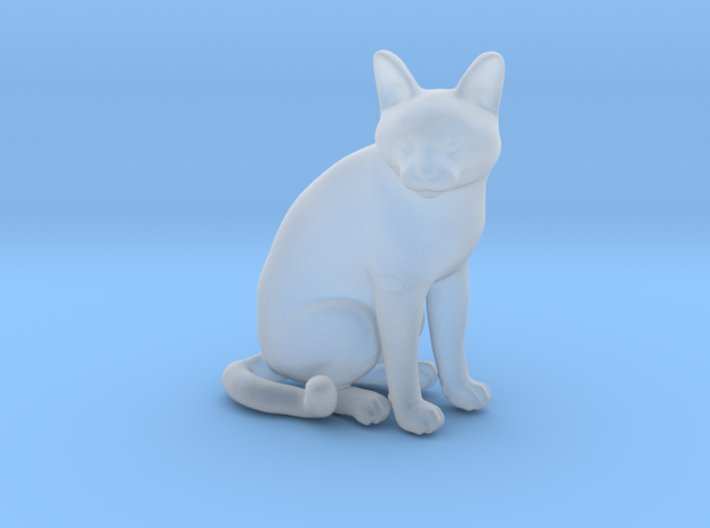 1/22 Chartreux Sitting 3d printed
