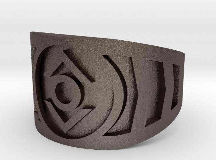 Indigo (Band Size 9 1/2) 3d printed