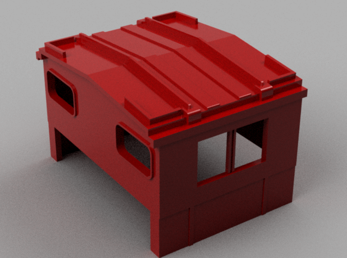 Athearn wide vision caboose replacement cupola 3d printed