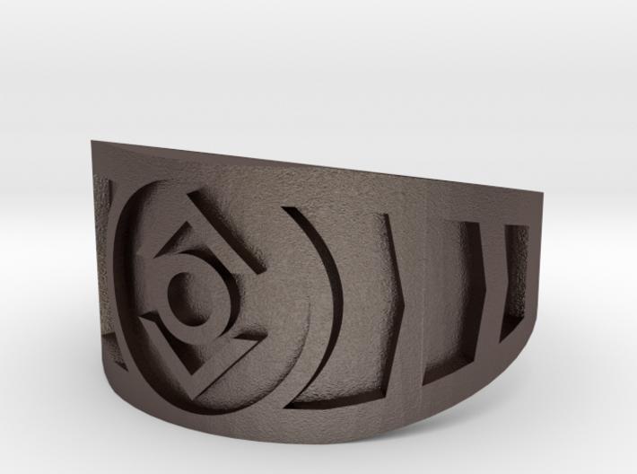 Indigo (Band Size 14 1/2) 3d printed