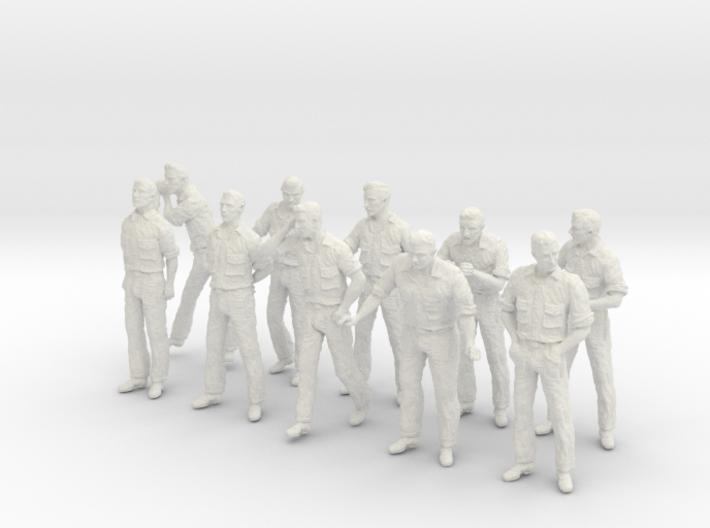 1-30 US Navy Dungaree Set 11-1 3d printed