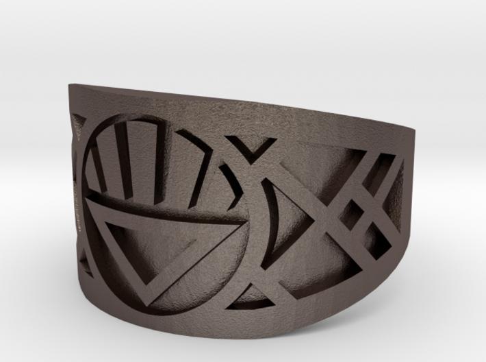 Black Lantern (Size 11 Band) 3d printed