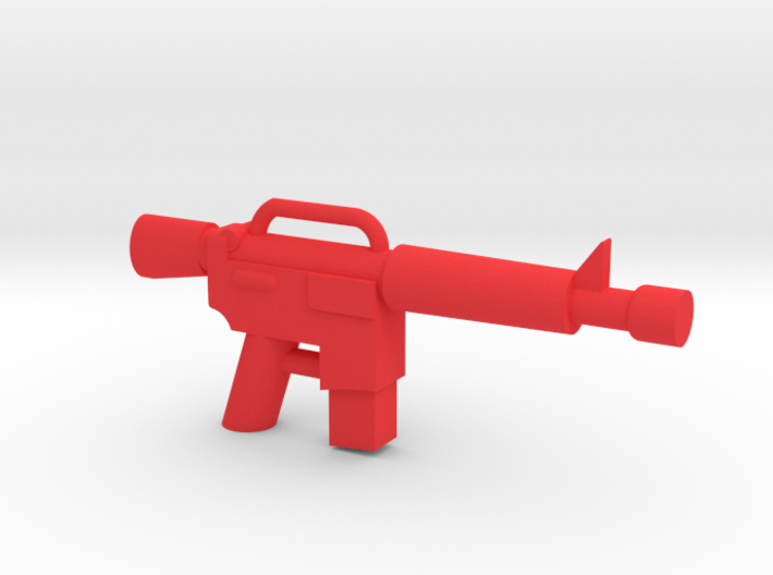 Minifigure M4 Carbine 3d printed