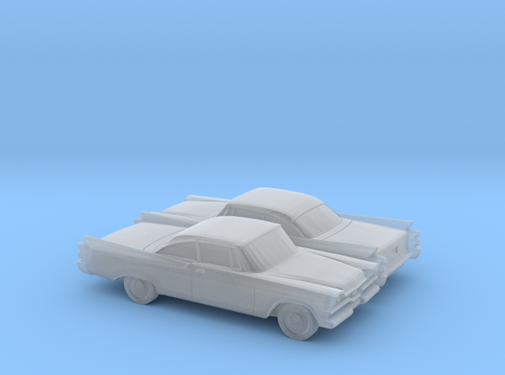 1/148 2X Dodge Royal Coupe 3d printed