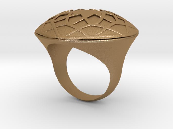 Ring Arabesk 3d printed