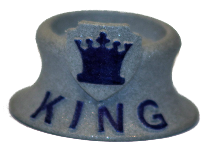 Chess Traders™ - King 3d printed