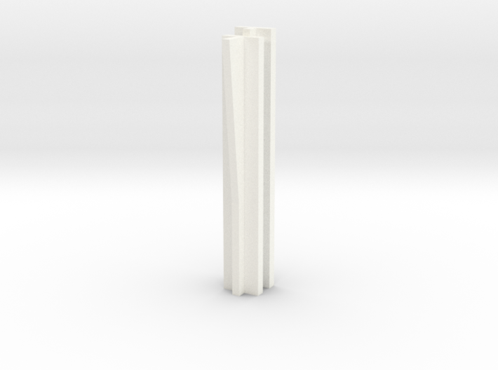 Set-1 Wall - Connector with Angled Rib 3d printed