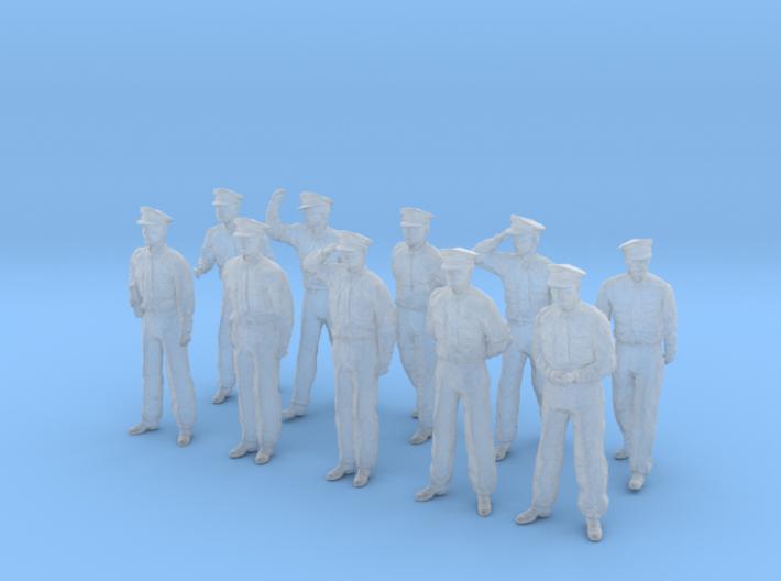 1-48 USN Officers Set1-1 3d printed