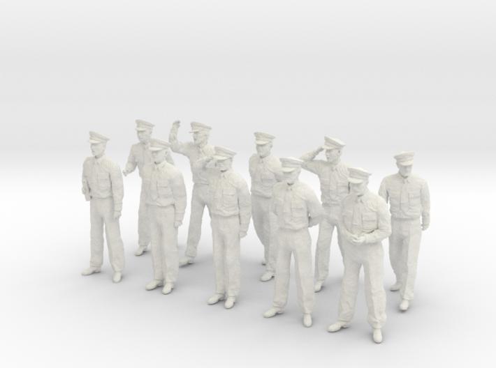 1-30 USN Officers Set1-1 3d printed