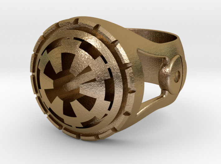 Empire Ring 24mm 3d printed
