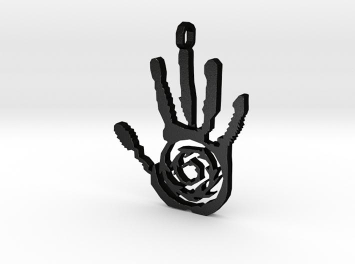 [The 100] Azgeda Symbol Pendant 3d printed
