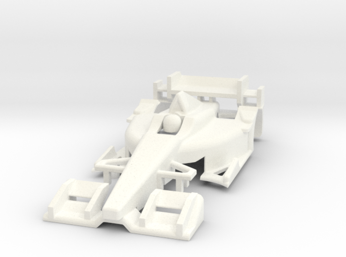 HO 2016 Indy Car Body 3d printed