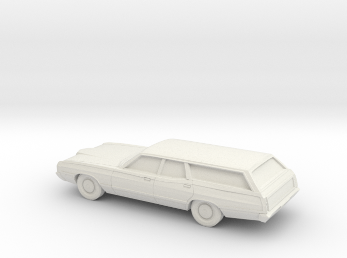 1/64 1971 Ford LTD Country Squier 3d printed