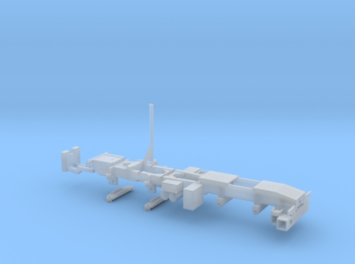 P 100-6 Man Fahrgestell 8x6 für Ladekran 100mt 3d printed